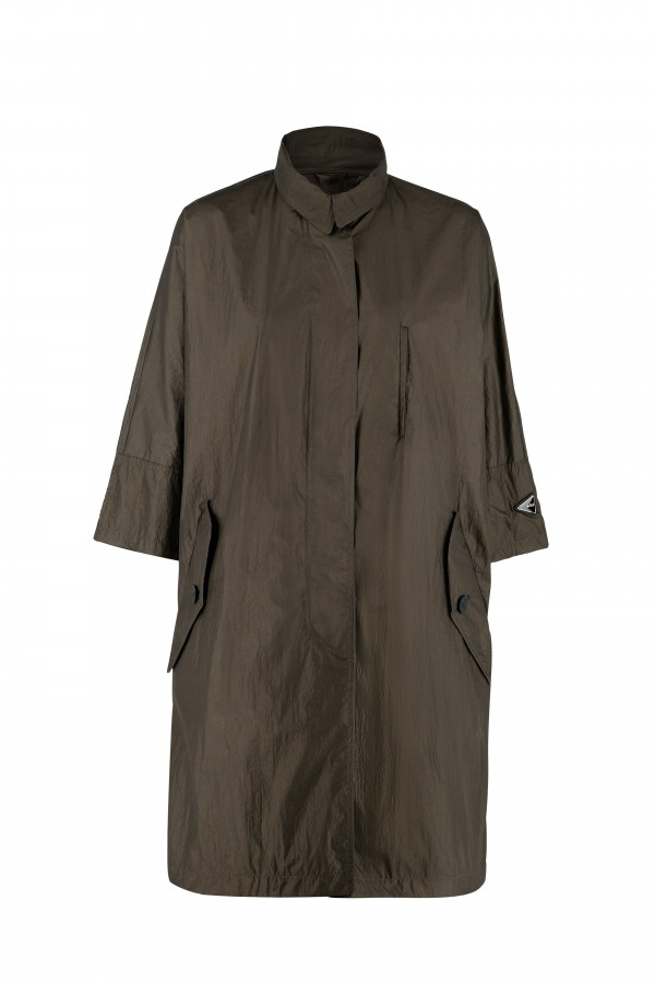 Oversize woman coat with...