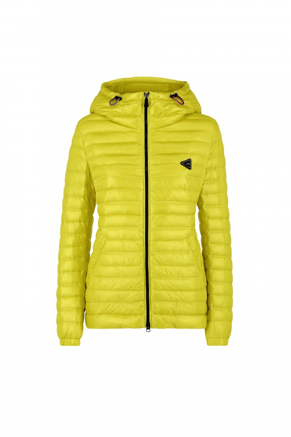 Hooded woman down jacket