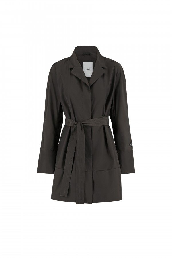 Woman short trench coat
