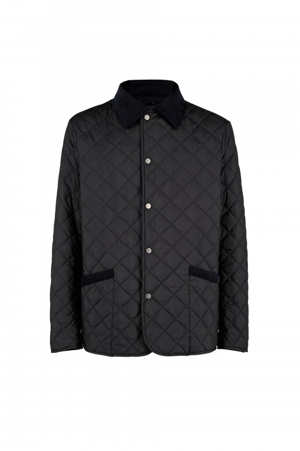 Man quilted padded caban