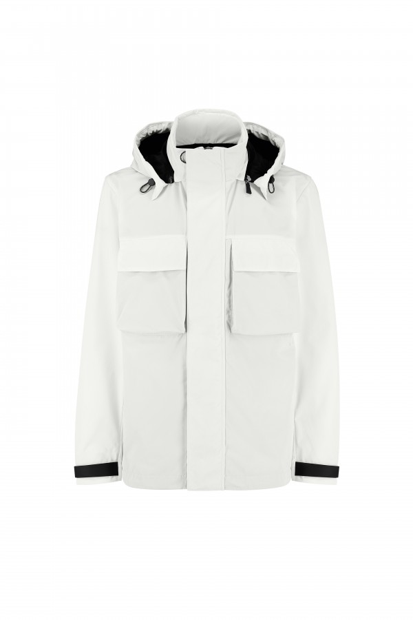 Man Solotex parka with...