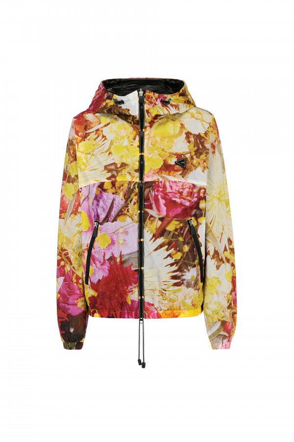 "Woman ""In Bloom"" bomber..."
