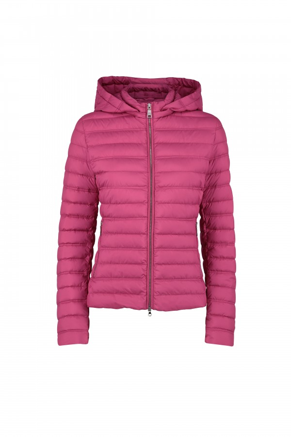 Woman down jacket with...